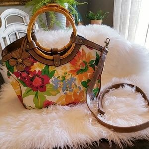 Excellent condition! Relic Floral purse